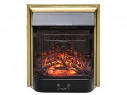 Электрокамин Roal Flame Majestic FX M Brass/Black