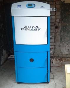 Твердотопливный котел ZOTA Pellet 100S